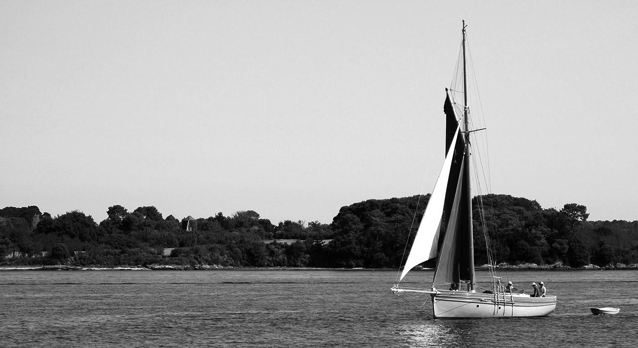 bateau golf morbihan - aurélie lopez graphiste